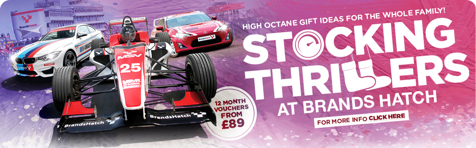 Christmas Driving Gifts at Brands Hatch