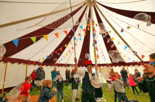 Circus Tent and Kids' Entertainment- Sunday