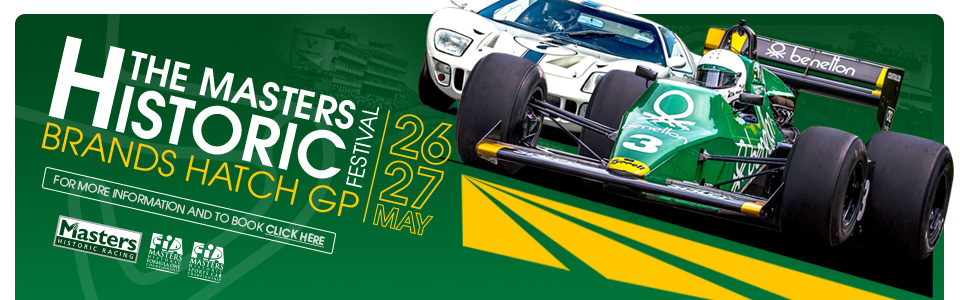 Masters Historic Festival - Brands Hatch