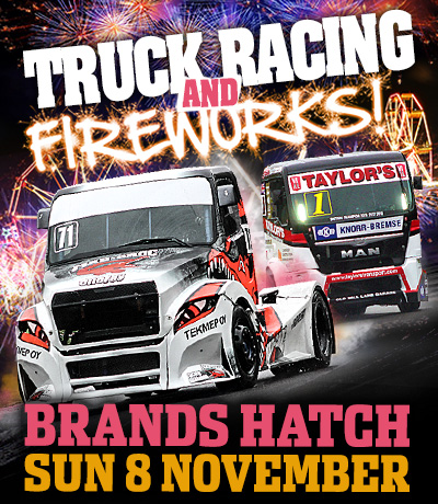 Truck Racing and Fireworks