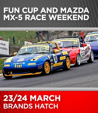 Fun Cup and Mazda MX-5 - Brands Hatch